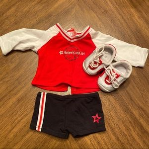 American Girl Volleyball outfit
